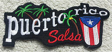 PUERTO RICO SALSA FLAG PATCH Cloth Badge Biker Jacket United States of America