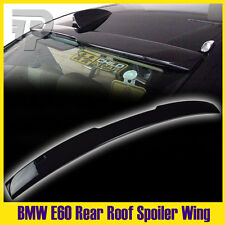 Painted #416 Black E60 BMW 5er 4D Roof Window Rear Roof Spoiler A look 525i