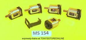 ms154 5x fa13 mabuchi 3-pole motor c/w cradle & worm for hobby toys models runs