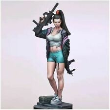1/24 RESIN Model figure kit girl BAD BLOOD 2,  75mm unassembled and unpainted