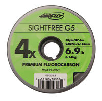 Airflo NEW Sightfree G5 Premium Fishing Fluorocarbon - 30 yard Various Sizes