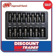 Ingersoll Rand 15 Pc 3/8″ Drive 6 Point Metric Deep Impact Socket Set - SK3M15LA