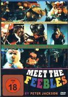 MEET THE FEEBLES - NEW UNCUT DVD - Peter Jackson - 1989 - Classic Horror