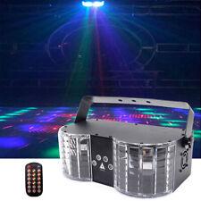 RG Laser RGBW LED Schmetterling König Bühnenlicht mit Remote DMX Party Club Show
