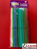 40 JUMBO STRAWS IDEAL FOR PARTIES / CELEBRATIONS & BBQ'S + FREE P&P