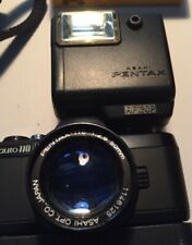 Pentax Cilito 110 System Flash,winder,2 Extra Lens,Case