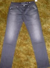 WOMEN'S MISS ME MID-RISE SKINNY JEANS SIZE 29 GRAY