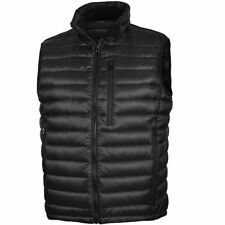 Zip Nylon Regular Size Waistcoats for Men