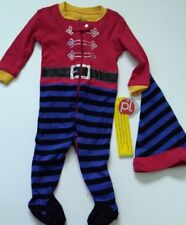 Xmas Baby pyjama elf 6M Sleeper 1 Piece Pajama & Hat NEW with tags