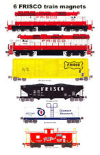 Frisco Freight Train 6 magnets Andy Fletcher