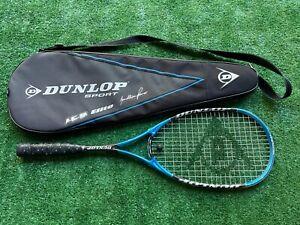 Dunlop Sport Ice Elite Jonathan Power Squash Racquet w/Cover
