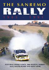 San Remo Rally 1985-91 DVD Lancia 037 Delta Quattro 6R4 205 T16 Celica *NEW
