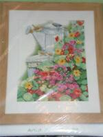 LANARTE Counted Cross Stitch Kit - HOME & GARDEN - GARDEN STILL LIFE
