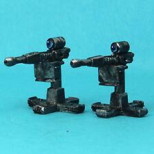 Sentry Gun X 2 28mm Unpainted Metal Wargames