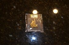 SDCC Blizzard Convention Exclusive Gold Arthas Collectible Pin - NIP - Blizzcon