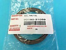 Genuine Toyota Various Model 9008031059 Engine Rear Main Oil Seal 90311-76003 !