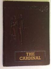 1944 Hayes County High School yearbook The Cardinal Hayes County Nebraska