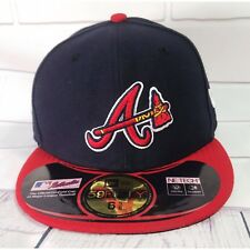 Atlanta Braves New Era Authentic Collection 59Fifty Baseball Cap Hat Size 6 5/8