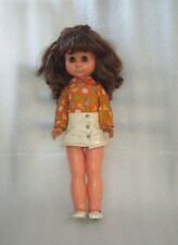 Vintage 40 �м Plastic and Rubber Toy Doll, Germany-Gdr, 1960-70