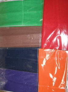 """3"""" Wide Stretchy HEADBAND buy by EACH  Nylon/cotton or blend Solids WIDER 2 diff"""