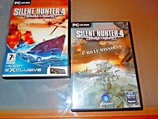Silent Hunter IV  4: Wolves of the Pacific (PC 2007) + U -BOAT  MISSIONS