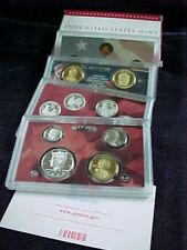 2009 S PROOF SILVER  SET - 18 PROOF  COINS