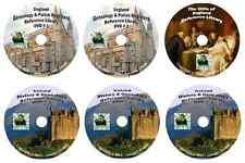 716 Books ENGLAND & IRELAND history & genealogy 6 -DVDs
