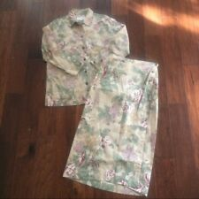 RARE Women's Vintage Jones New York SPORT floral skirt set! Size S & Size 6