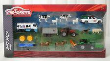 Farm Set Fahrzeuge & Zubehör Gift Pack Majorette Neu & OVP