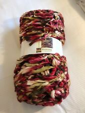 LARGE CHUNKY WOVEN KNIT SOFA BED BLANKET THROW 130cm x 180cm PINK RED