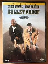 ADAM SANDLER DAMON WAYANS Bulletproof ~ 1996 Buddy Acción Comedia REGIÓN 1 US
