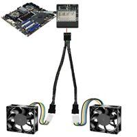 PWM Y Kabel 4 PIN Adapter Lüfter Verteiler Splitter CPU für PC Lüfter U3O9 B6A2
