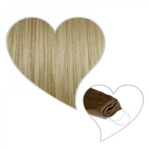 Easy Flip Extensions in champagnerblond #22 30 cm 70 Gramm Echthaar Hair Secret