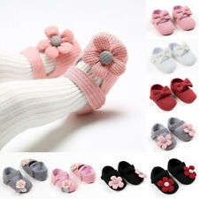 Baby Girl Newborn Princess Bow Shoes Party Soft Sole Sneakers Pram Shoes Gift