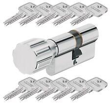 ABUS Eck550 Knaufzylinder Z45/k45 Mm Wendeschlüssel mit 3 Schlüssel