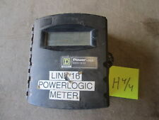 Used Square D Power Logic Energy Meter PN EME 3164, Used, Poor Cond for Parts