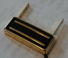 """Suspended """"Johnny Smith"""" dual blade HB pickup gold by Pete Biltoft"""