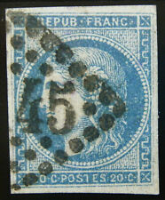 France Stamp 1870-71 20c Ceres Scott # 44 Used