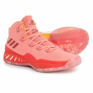 esta noche transportar esta  adidas Pink Basketball Shoes for Men for sale | eBay