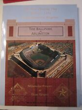 1994 TEXAS RANGERS APRIL OPENING DAY PROGRAMS - APRIL 11 & 13 & MORE - OFC-2