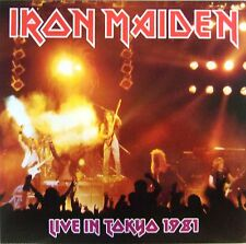 IRON MAIDEN 2LP VINYL - LIVE IN TOKYO 1981