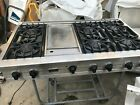 """Viking 48"""" Stainless Range top, GAS, 6+ griddle in los Angeles photo"""