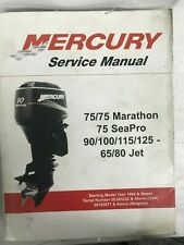 2003 Mercury Service Manual Starting Model Year 1994 & Newer P/N 90-830234R04
