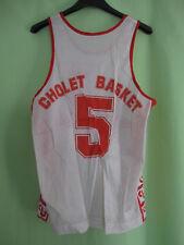 Maillot Cholet Basket Panzeri vintage Jersey Winners Porté #5 Basketball - S