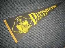 1940'S 1950'S PITTSBURGH PIRATES SUPER RARE FULL SIZE  PENNANT EXCELLENT