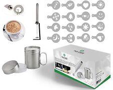 Hlix CAFE - 20pcs Set con Latte Portatile Schiumalatte/Cocktail Mixer/Uovo FRUSTA PO
