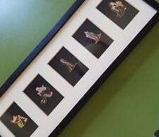 Vintage Disney Villains Collectors Pins - Framed - Disney Bad Girls: Ursula the