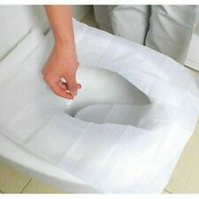 60 x Toilet Seat Covers Paper Travel Flushable Hygienic Disposable Sanitary