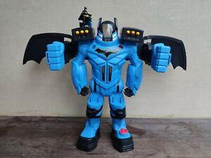 Batman Robot Batcycle Batbot Xtreme Voice Changer Arrow Disc Projectiles DC Hero