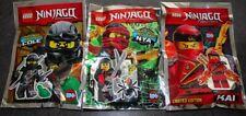 Cole et sa grenouille,Kai,Nya | Lego® Ninjago - Polybag New/Neuf #5
